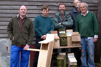 Nest box making, May 2008 (444KB)