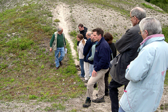 Guided walk, Micheldever Spoil Heaps, May 2006 (572KB)